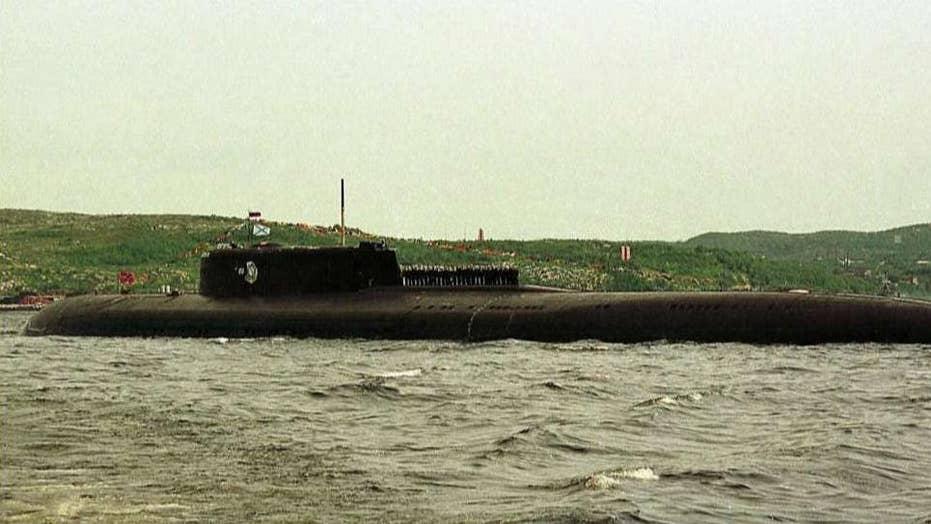 Russian submarine fire kills 14 sailors