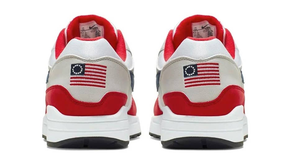 Nike fears July Fourth flag sneaker could 'unintentionally offend,' cancels release