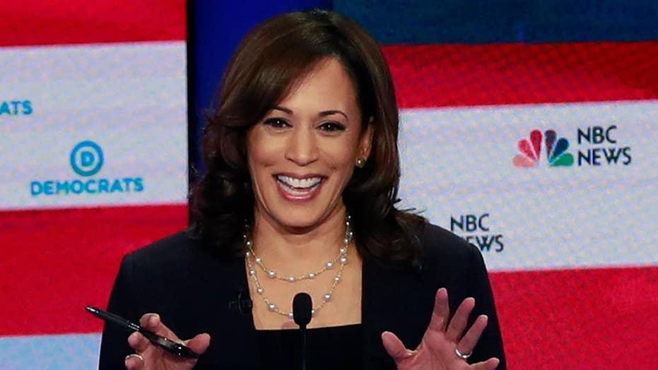 Kamala Harris enjoys post-debate bump, say the latest Democratic primary polls
