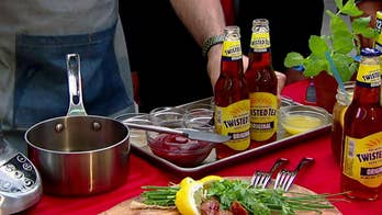 Twisted Tea barbeque sauce? Try this sweet and spicy glaze for your July Forth barbeque