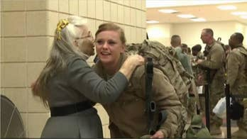 Plaque unveiled honoring Elizabeth Laird, the Fort Hood 'Hug Lady'