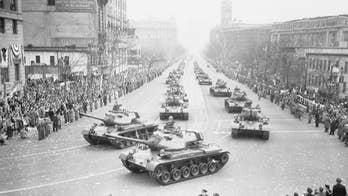 A look at the history of US military vehicles in Washington parades