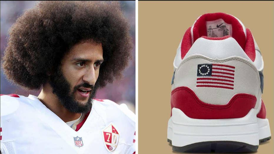 Nike pulls patriotic sneaker after Colin Kaepernick deems it racist