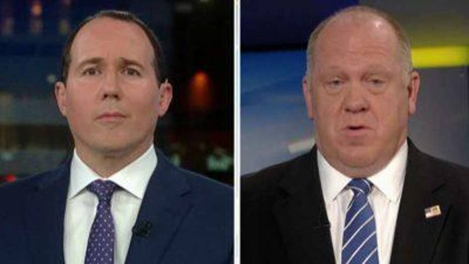 Tom Homan reacts to judge blocking Trump detention policy