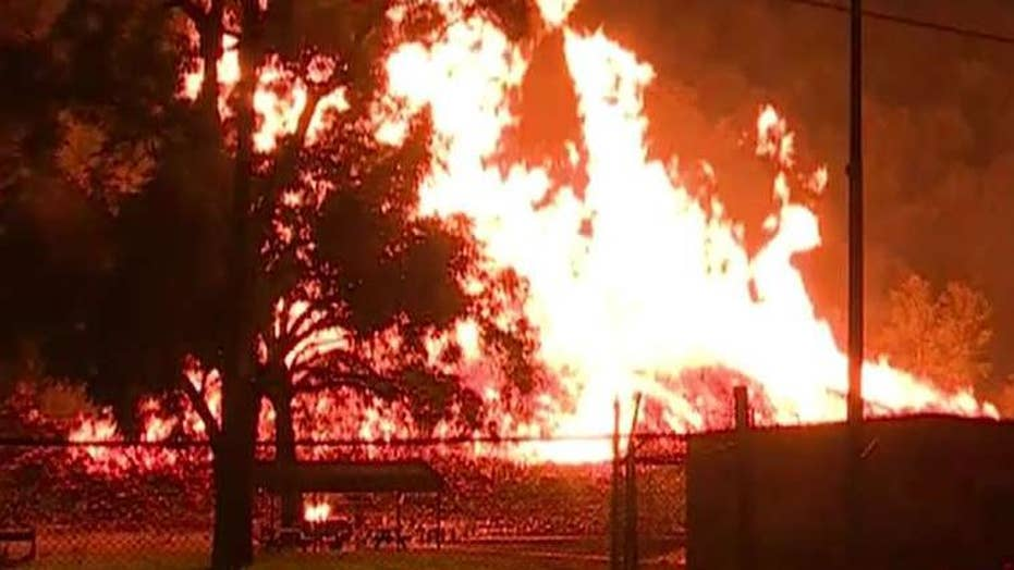 The massive fire that broke out at a Jim Beam warehouse in Kentucky has caused environmental damage to the local ecosystem.