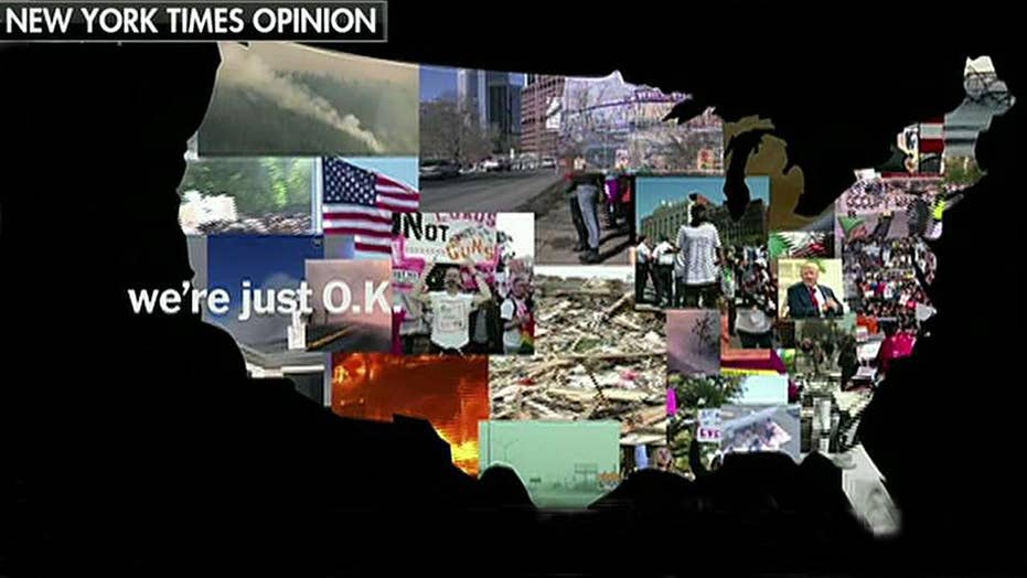 New York Times opinion video proclaims America is 'just OK'