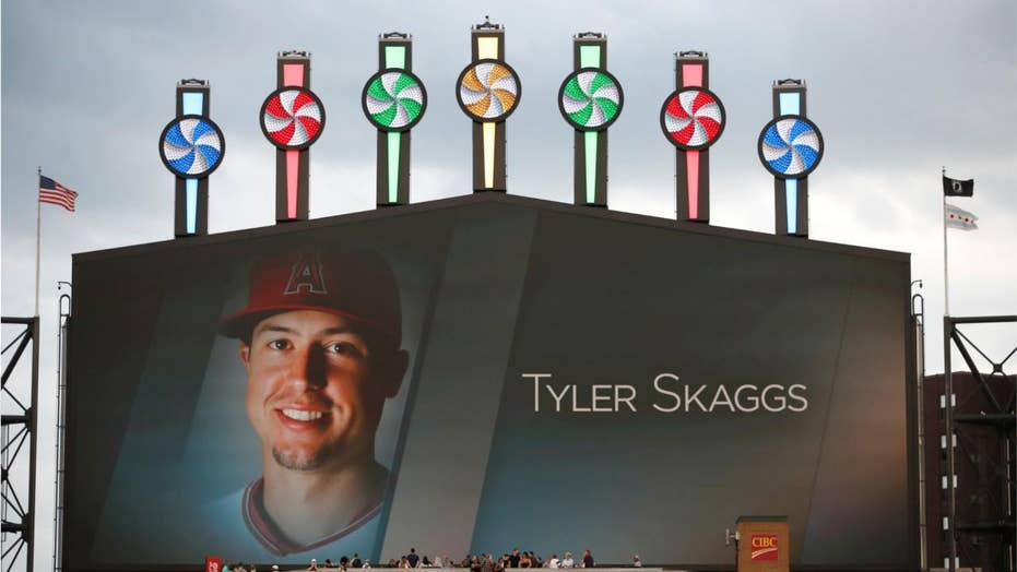 Tyler Skaggs tribute hashtag overtaken by Trump haters