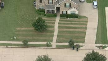 Texas teen mows US flag into lawn to honor Army friend who died by suicide along US-Mexico border