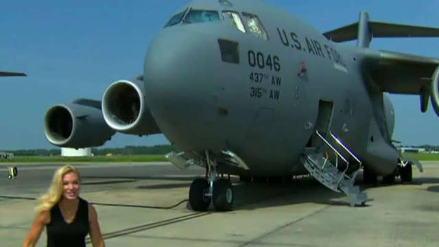 Hundreds line up for 10th Annual Salute from the Shore complete with vintage and active military planes