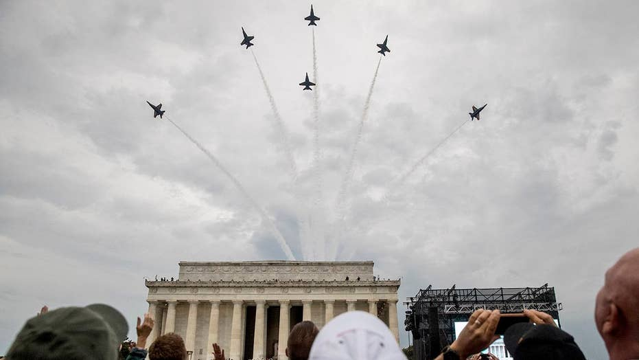 'Salute to America' Part 2: President Trump celebrates a United States Armed Forces