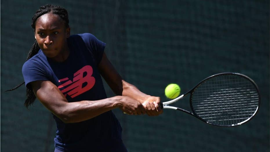 Coco Gauff churned adult in Wimbledon doubles debate as actor dumps partner by content for teenage phenom