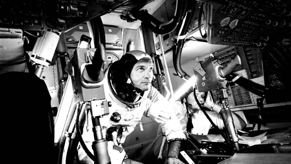 Apollo 11's Michael Collins reflects on historic Moon landing: 'We were just regular astronauts'