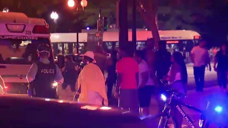 Fourth of July celebrations take violent turn in Chicago