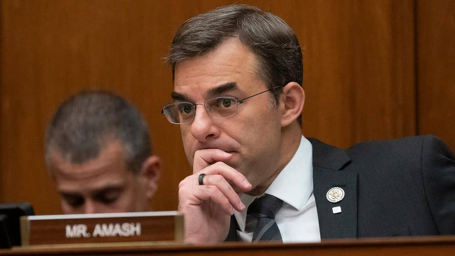President Trump rips Rep. Justin Amash after congressman says he's quitting the Republican Party