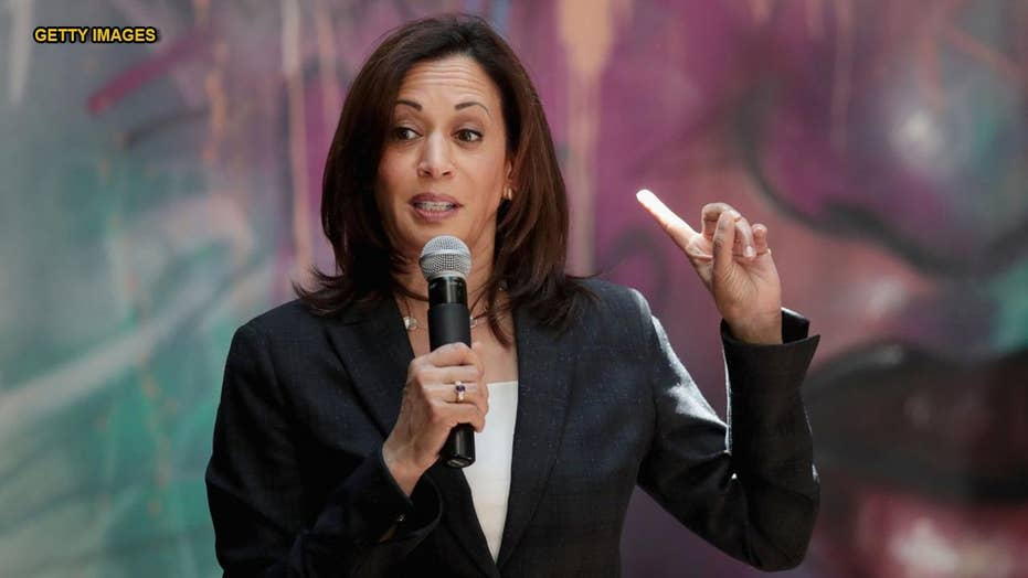 Prominent 2020 Democrat hopeful Kamala Harris' fundraising for 2nd entertain distant behind tip rivals'
