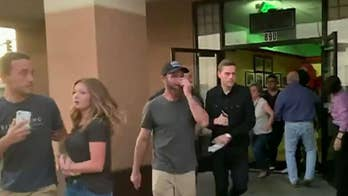 Panicked diners rush from restaurant as 7.1 earthquake hits Southern California