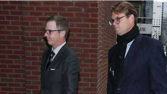 Test taker in college admissions scandal set to be sentenced