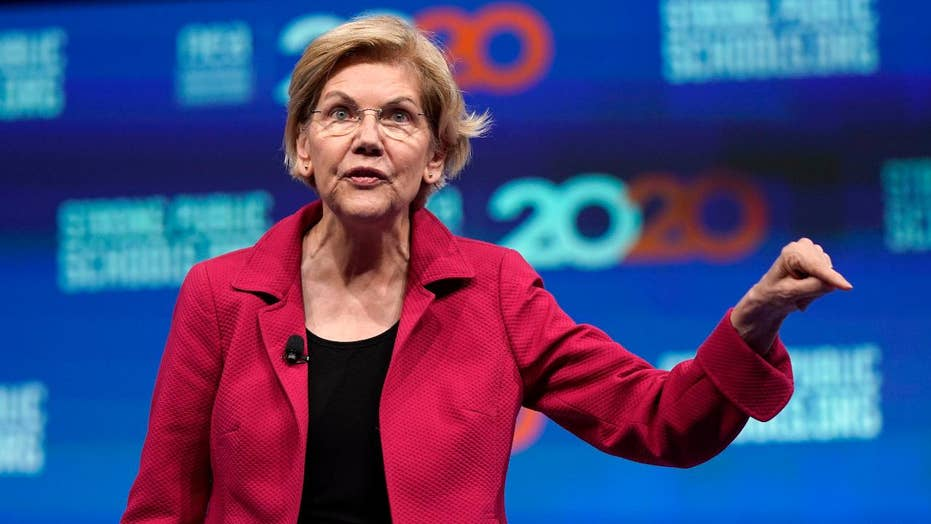 2020 Democrat Elizabeth Warren proposes executive orders on race, gender pay gap