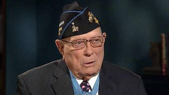 The last-surviving World War II Marine to receive the Medal of Honor on his last mission