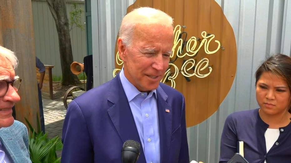 RAW VIDEO: Joe Biden answers questions in Charleston, SC