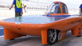 Students push solar energy envelope at the Formula Sun Grand Prix