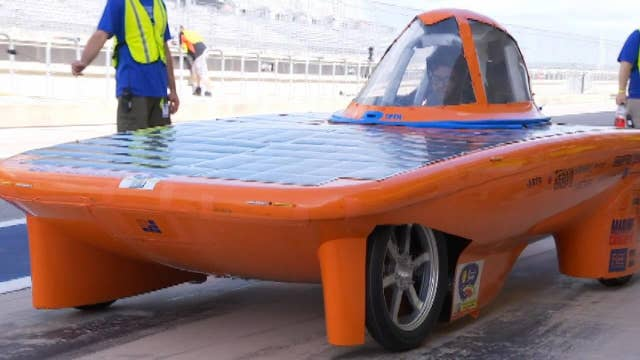 Students push solar energy envelope at the Formula Sun Grand Prix