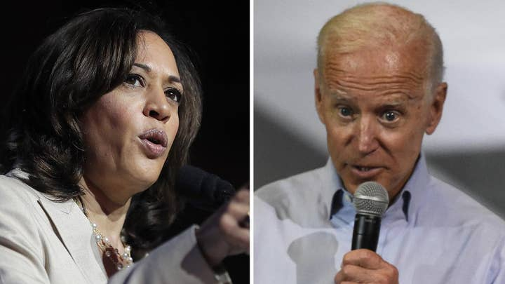 Kamala Harris praises Joe Biden's 'courage' for apologizing for comments about working with segregationists