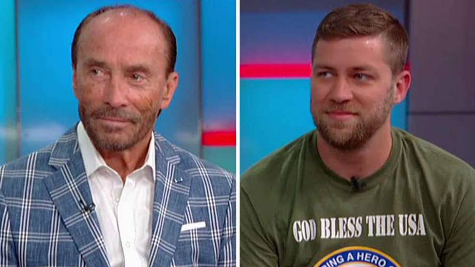 Lee Greenwood teams up with Helping a Hero to gift special home to double-amputee Afghanistan veteran
