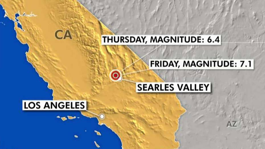 Experts predict more major tremors after two strong earthquakes rock Southern California