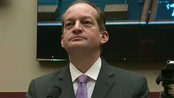 Congressional Democrats apply increasing pressure on Labor Secretary Alexander Acosta to resign