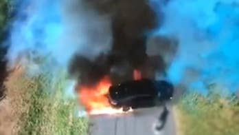 Gender reveal in Australia goes terribly wrong when car catches fire