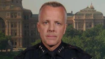 Austin police chief on city's homeless problem
