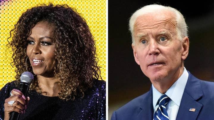 Michelle Obama refuses to comment on Biden's segregationist remarks