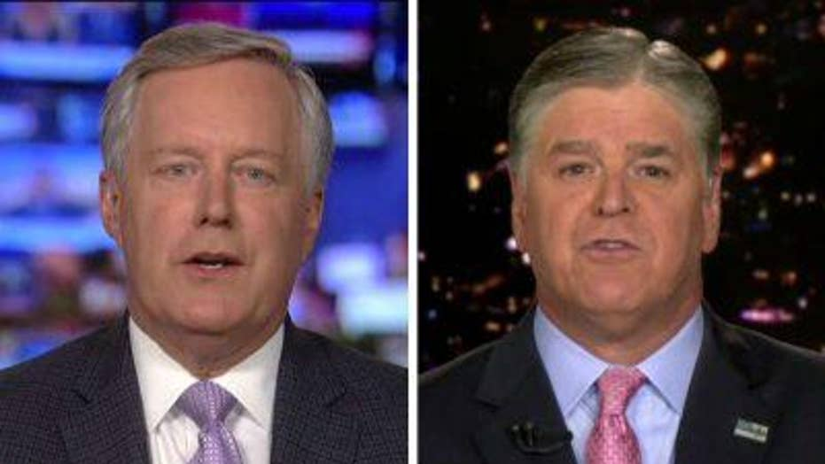 Mark Meadows on Comey trying to indict Trump