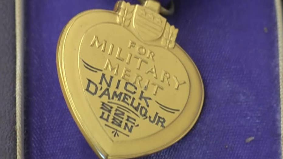 Purple Heart found in concession box during Arizona Goodwill