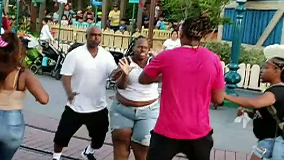 Family brawl that broke out at Disneyland's Toontown being investigated by police