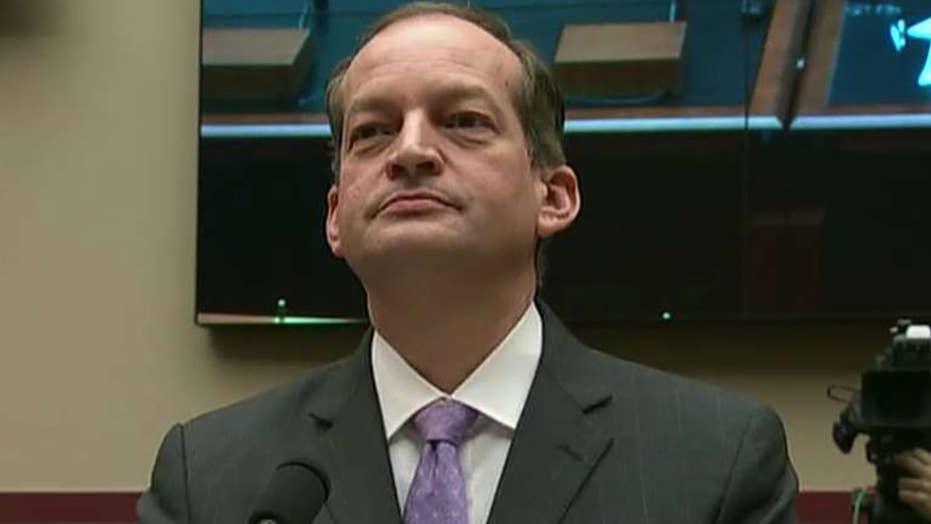 Congressional Democrats request augmenting vigour on Labor Secretary Alexander Acosta to resign