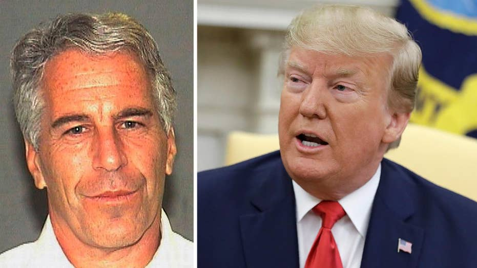 Trump says he had falling out with Jeffrey Epstein 15 years ago