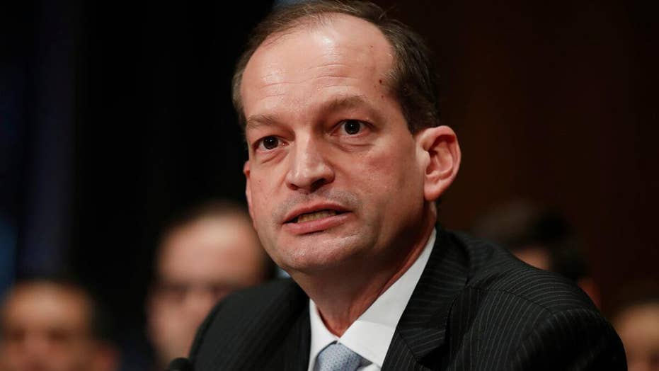 Bret Baier says Labor Secretary Acosta faces 'growing pressure' over Epstein plea deal, job performance