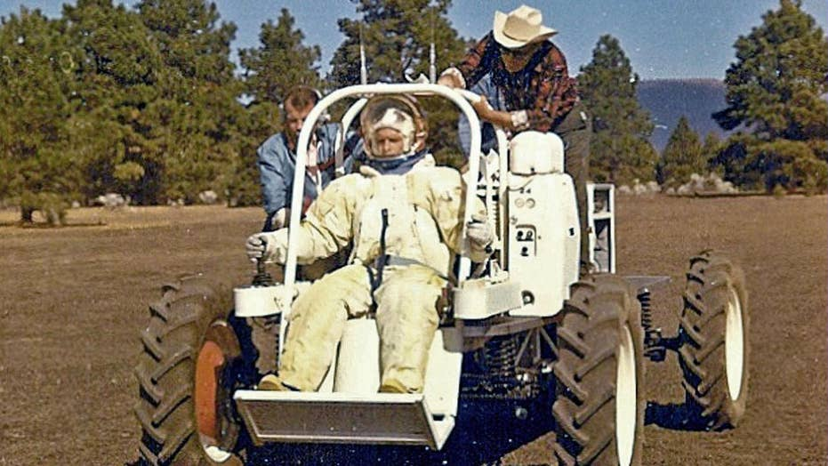 NASA lunar bequest in a Arizona desert