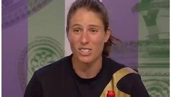 British tennis star Johanna Konta has testy exchange with reporter after loss