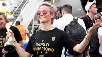 US World Cup win overshadowed by co-captain Megan Rapinoe's politics?