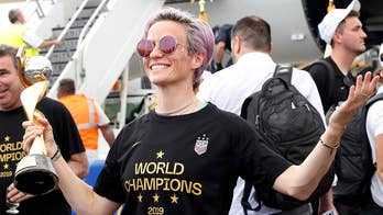 Rapinoe says Trump's message 'excludes people that look like me' and 'a lot of people in his base'