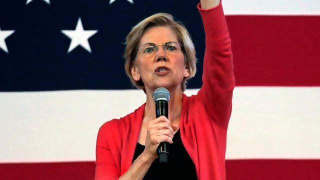 Sen. Elizabeth Warren signals support for end of 'occupation' by Israel