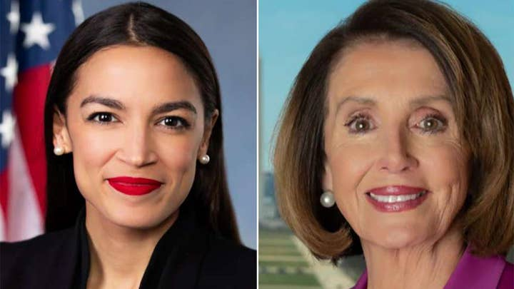 Michael Goodwin on feud between Nancy Pelosi and Alexandria Ocasio-Cortez