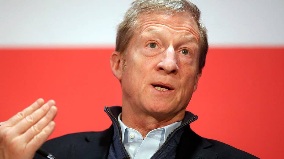 Tom Steyer officially announces 2020 presidential bid