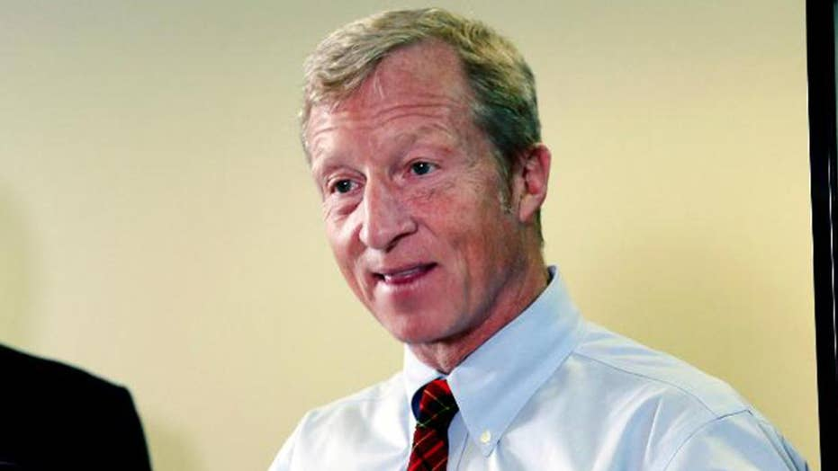On Twitter Soliciting For Ideas And Screenplays 2020 Steyer fires shots at Dem rivals | Fox News