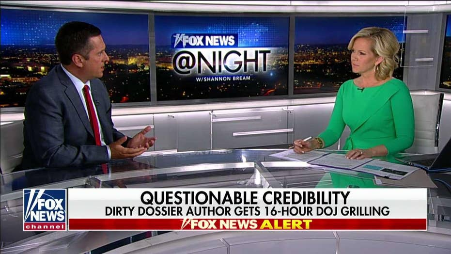 Nunes on NYT reporting FBI questioned Steele source's credibility: A lot of the dossier 'was just made up'