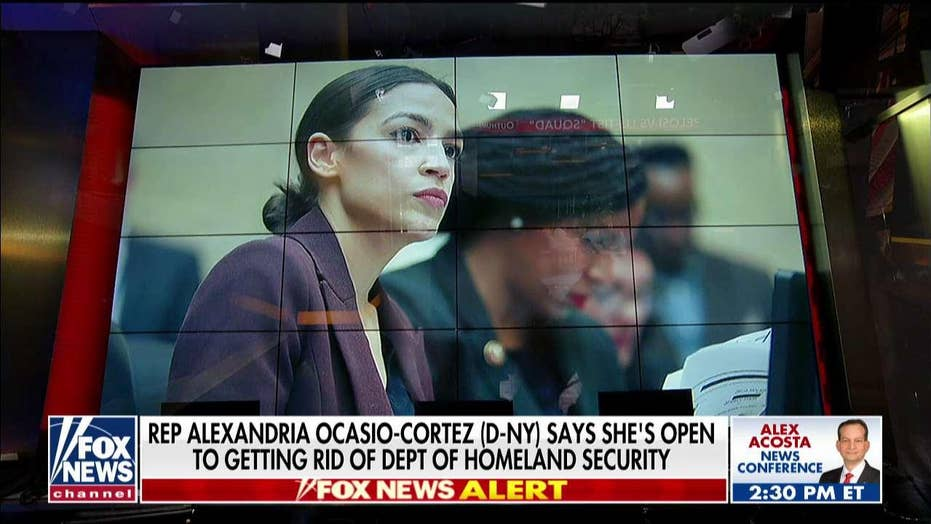 """Susana Martinez calls out AOC's """"insane"""" idea to get rid of DHS"""