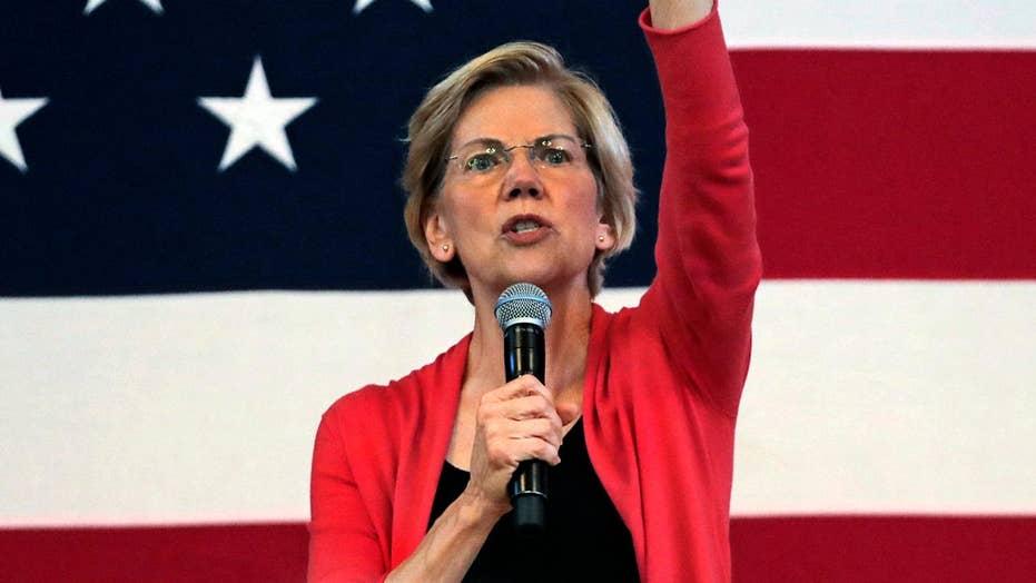 Sen. Elizabeth Warren signals support for end of 'occupation' by Israel